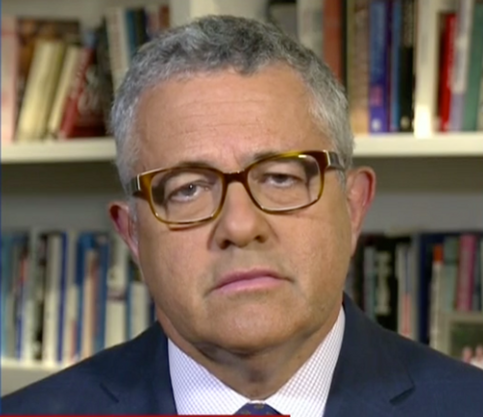 CNN Legal Analyst Jeffrey Toobin: It's a 'Virtual Certainty' Trump Would Be Indicted Were He Not President