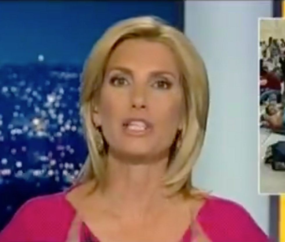 Fox News' Laura Ingraham Echoes 'You Will Not Replace Us' Nazi Chant in Vile Segment Attacking Legal Immigration
