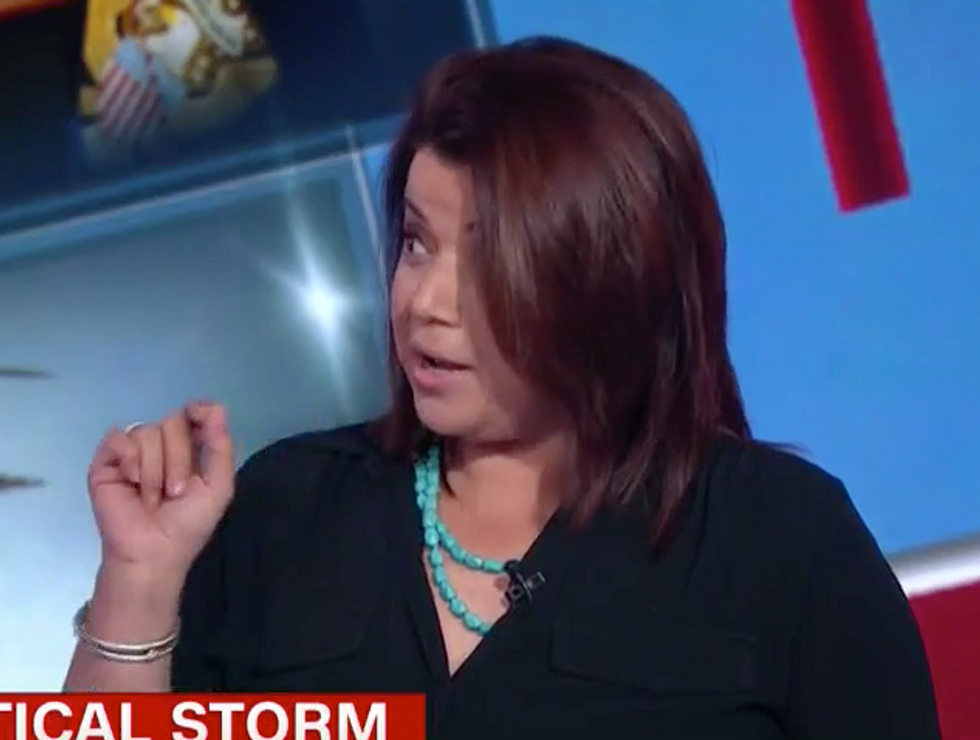 'I Came With Receipts': CNN's Ana Navarro Shuts David Urban Down with Facts as He Defends Trump's Weak Response to Puerto Rico
