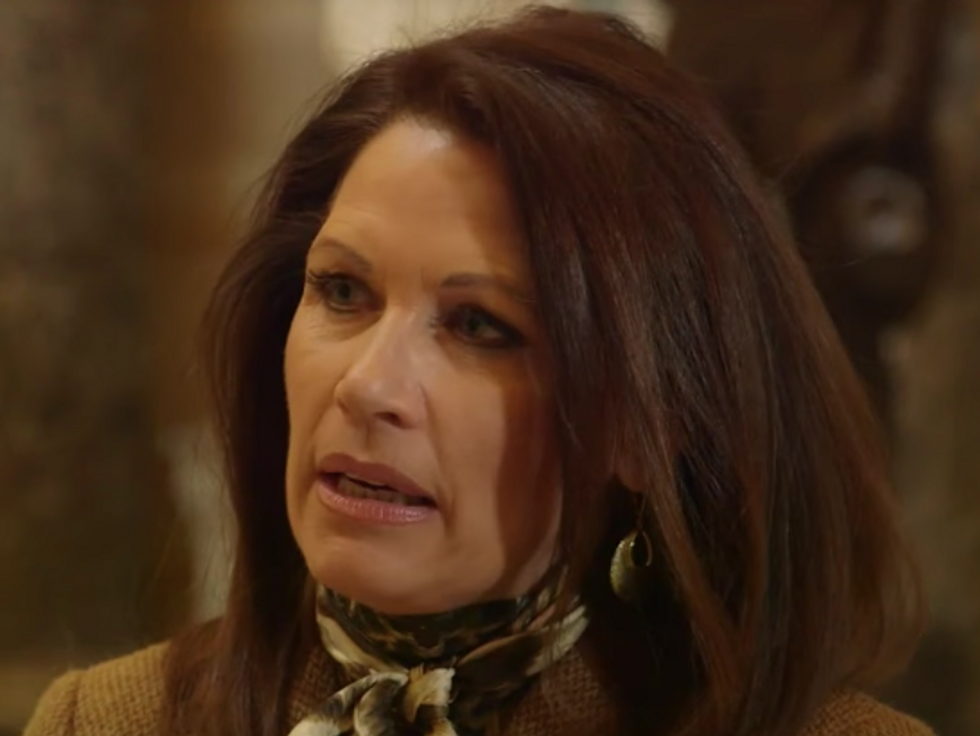 Bachmann Appears on Apocalypse-Themed Show to Say Obama and Clinton 'Should Be in Jail' Based on Conspiracy Theory