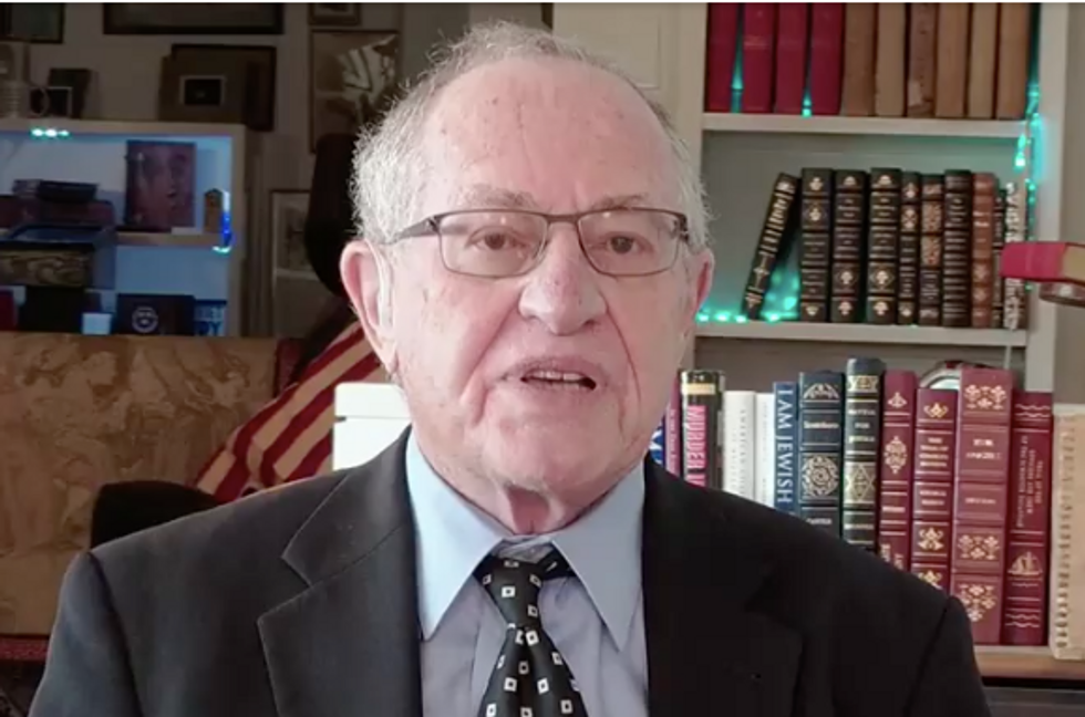 Attorney Alan Dershowitz Admits That Trump's Interests Aren't Aligned with What's Best for America in Mueller Probe