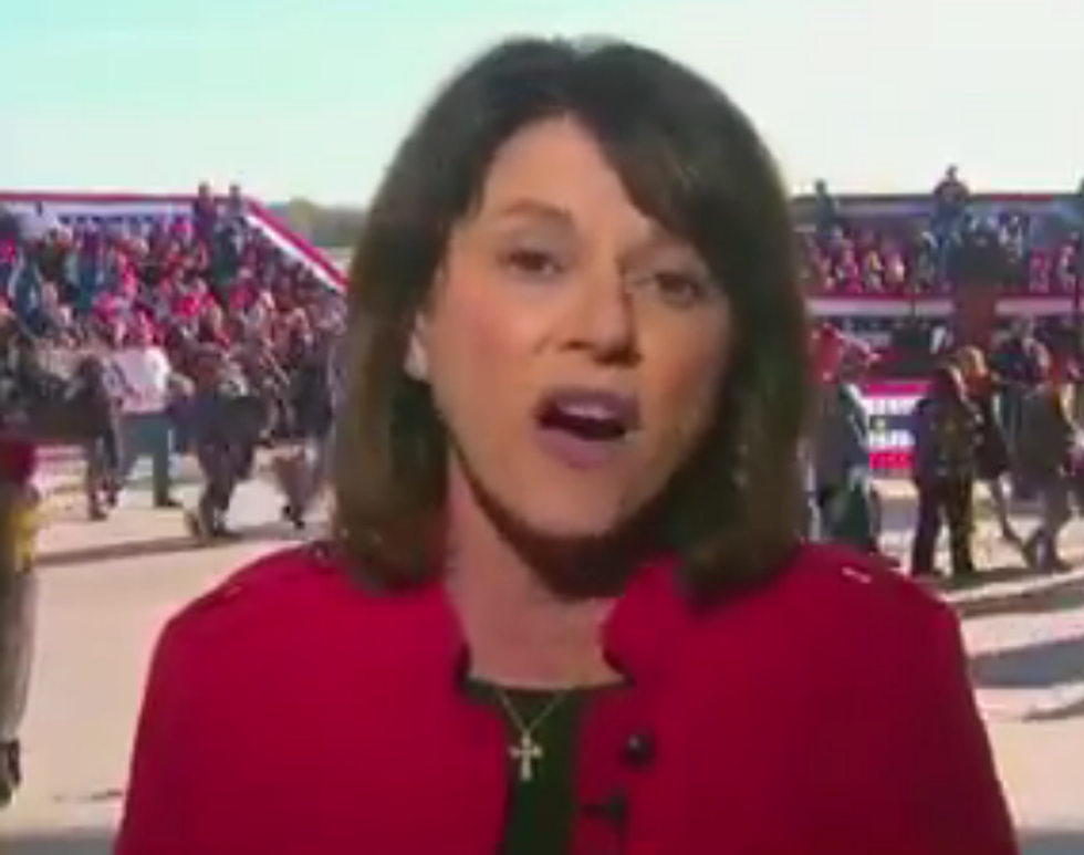GOP Senate Candidate Blames the 'Extreme Left' and Her Opponent for the Bombs Sent to Democrats and CNN
