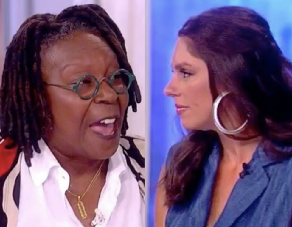 'Fascists Do That': Whoopi Goldberg Demolishes Abby Huntsman's Criticism of NFL Players Protesting During Anthem on The View