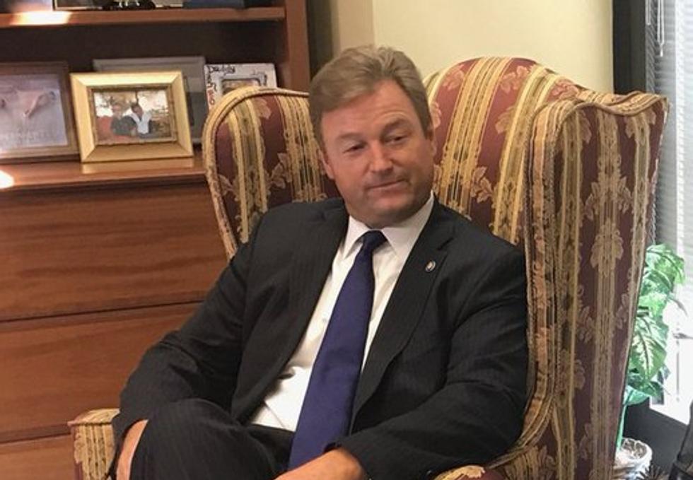GOP Senator Calls Cancer Patient He Threw Out of Town Hall a 'Democrat Political Operative'
