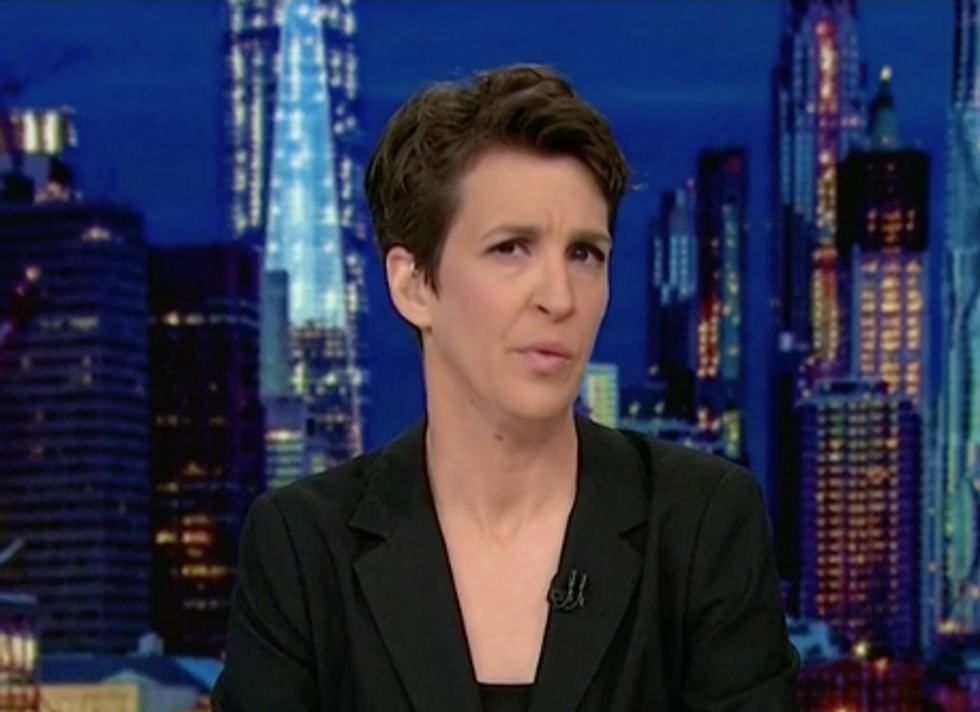 MSNBC's Rachel Maddow believes Trump is now being fed 'inside information' about Mueller  -  and it could be 'the beginning of the end'