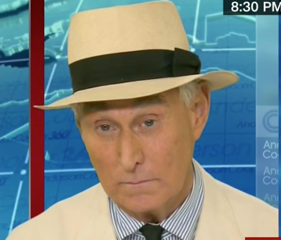 Trump Ally Roger Stone Pledges to Never Testify Against the President 'Under Any Circumstances' in Bizarre CNN Interview
