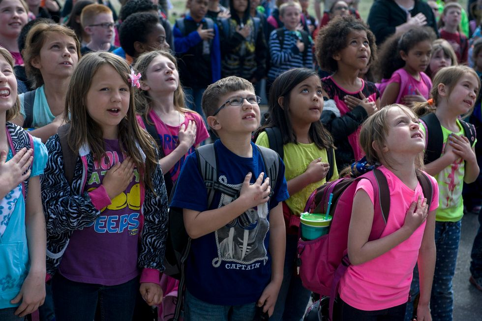 Here's A Brief History of the Battle Over Patriotism and the Pledge of Allegiance in US Schools