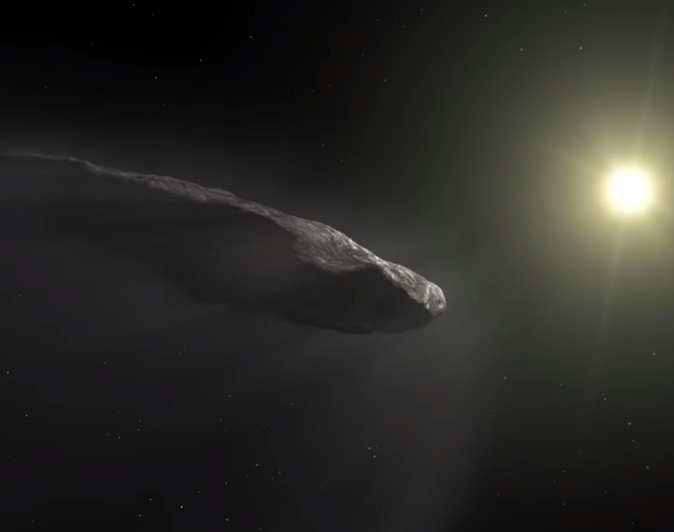 Here's Why These Harvard Astrophysicists Speculate that a Mysterious Interstellar Object Could Have Come from Aliens