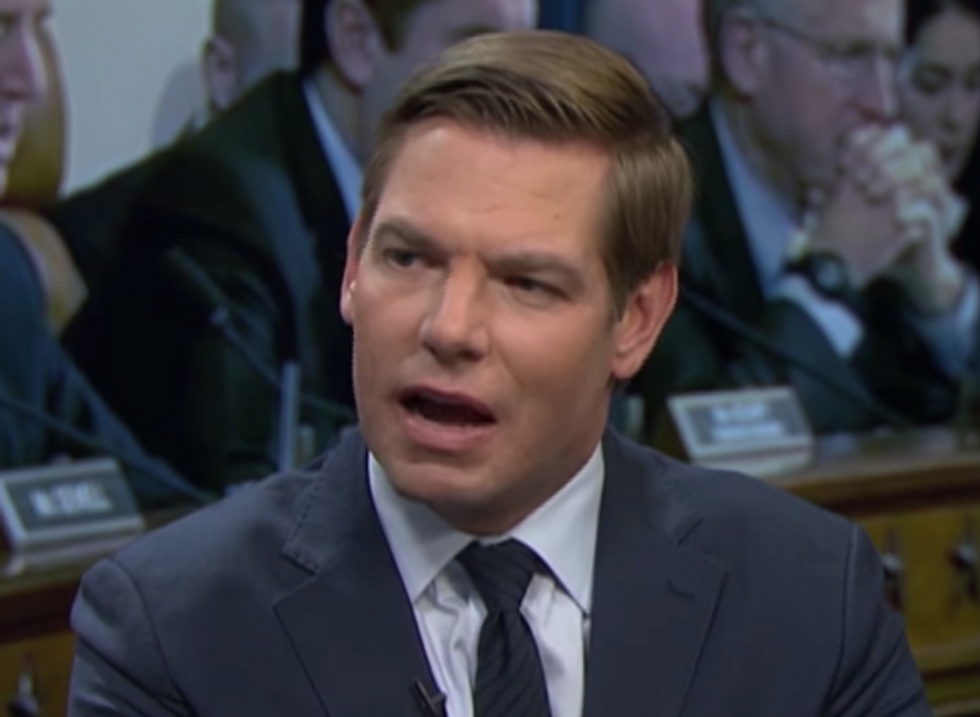 'We're Doing Them a Favor': Rep. Eric Swalwell Explains Why Republicans Should Hope for a Democratic Blue Wave