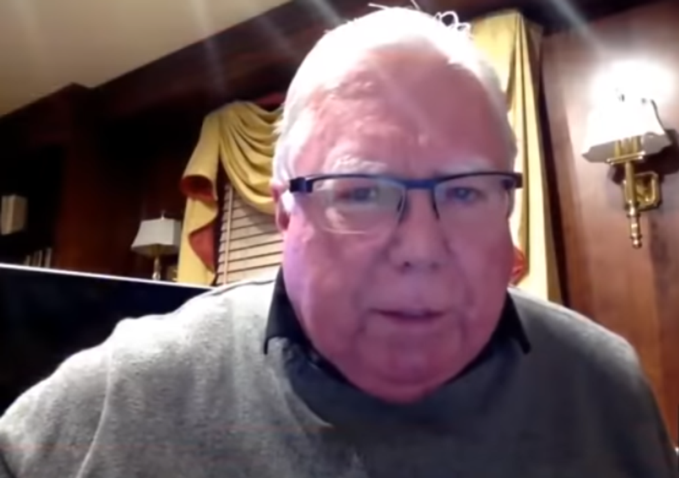 Birther Jerome Corsi says Mueller's 'surveillance vans' are stalking his family in wacky Fox interview