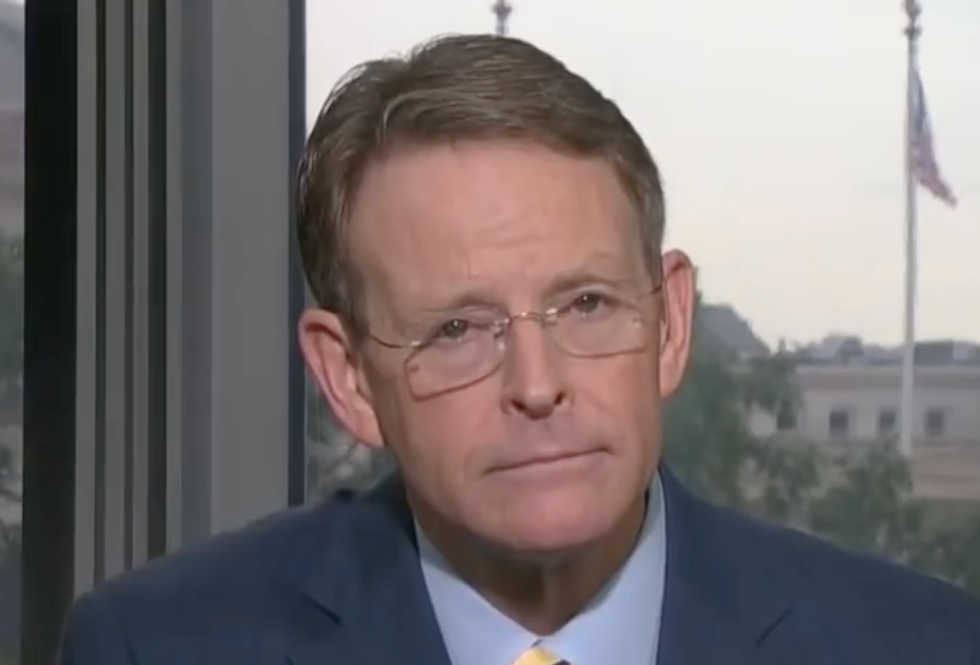 C-SPAN Caller Schools Family Research Tony Perkins to His Face: Not Representing 'True Christians'  -  But 'Worshipers of Donald Trump'