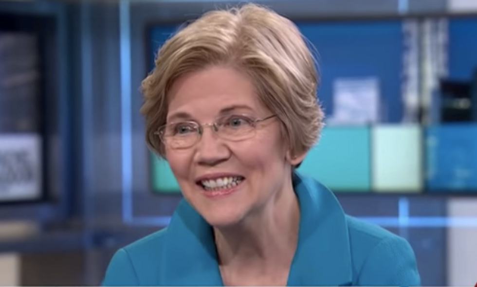 The billionaires are throwing tantrums — and Elizabeth Warren is bathing in their tears