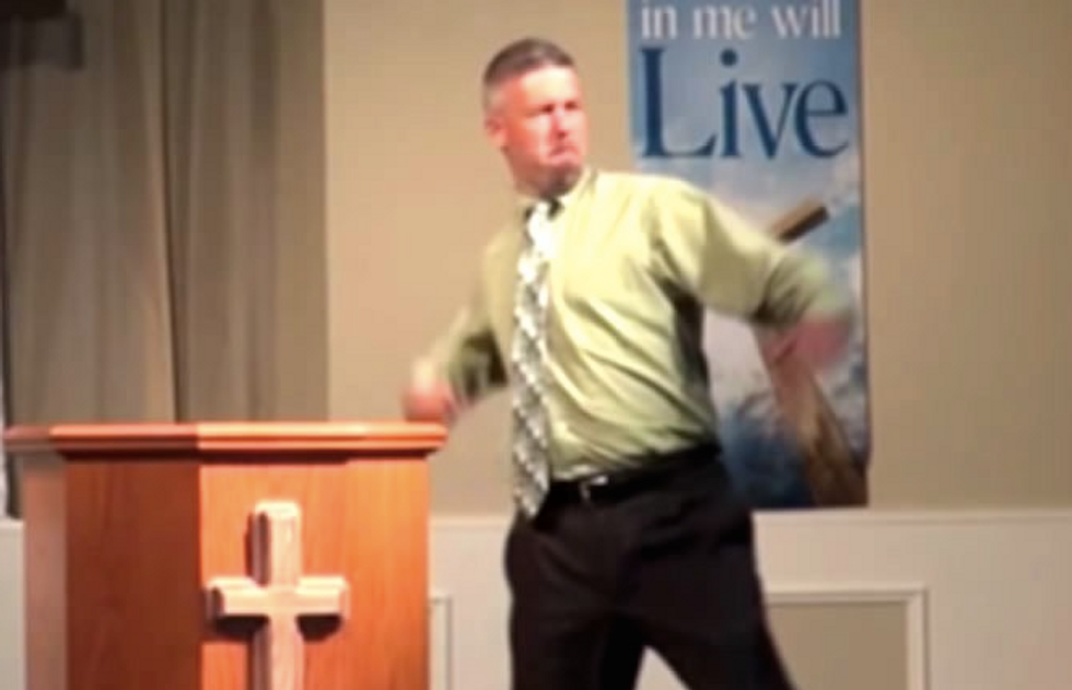 'It's Witchcraft That's Trying to Take America Back Over': Alabama Pastor Goes on Insane Rant in Defense of Trump