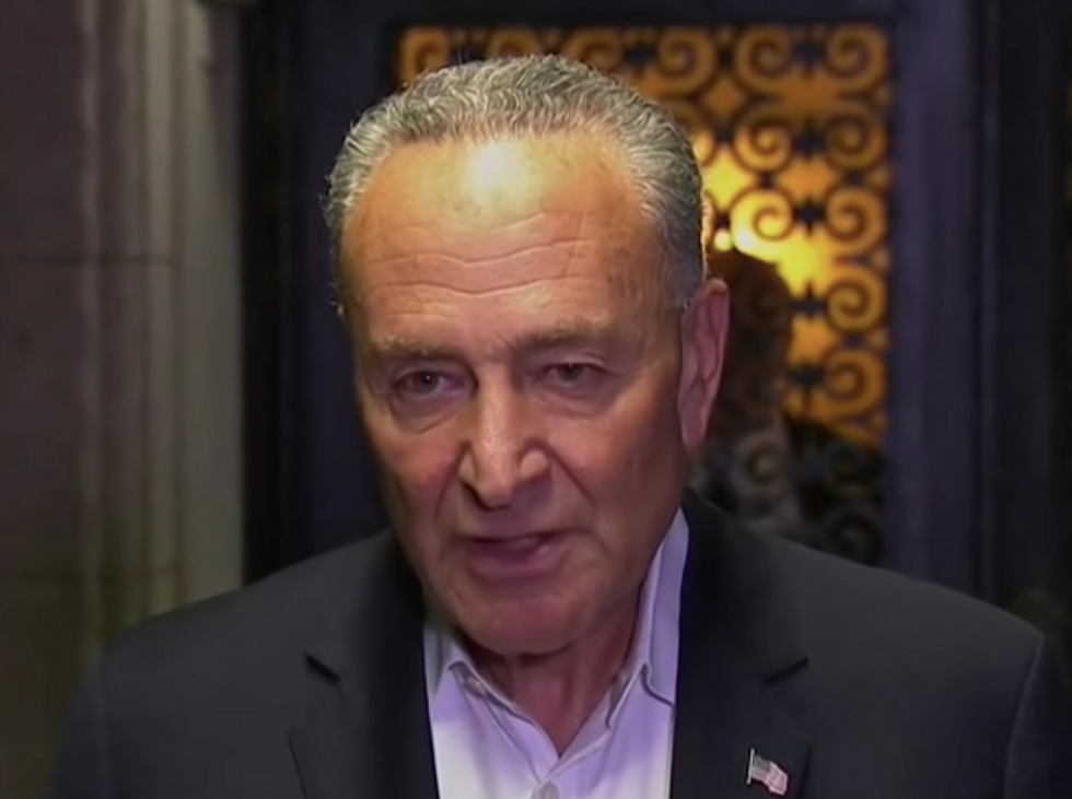 'Utterly Useless' Chuck Schumer Cuts Deal With McConnell to Fast-Track 7 Trump Judges