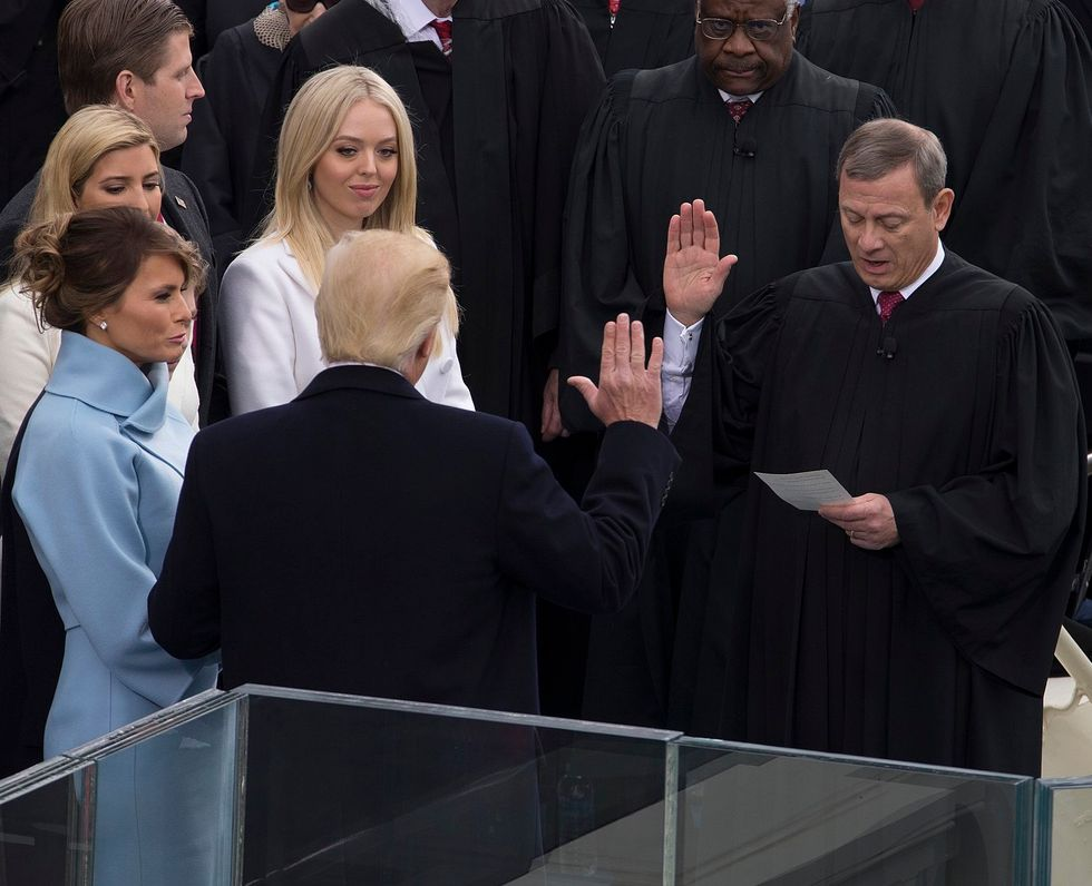 Trump begins a petty feud with Chief Justice John Roberts and tells him to 'study' the judiciary more