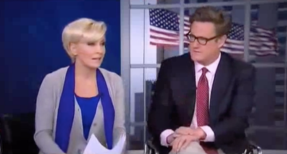 MSNBC's Morning Joe Says He's Close to Confirming Anonymous Op-Ed Writer: 'That Name Is Slowly But Surely Getting Around'