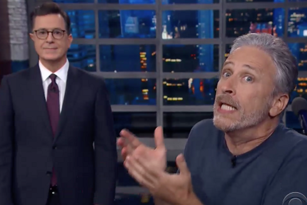 Jon Stewart Is Right: How Long Will the Media Play Trump's Game?