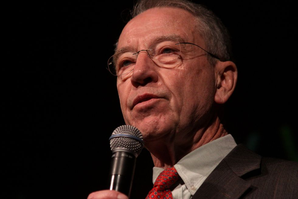 Senate Judiciary Chairman Begs Constituents To Stop Asking Him About Brett Kavanaugh at Town Hall