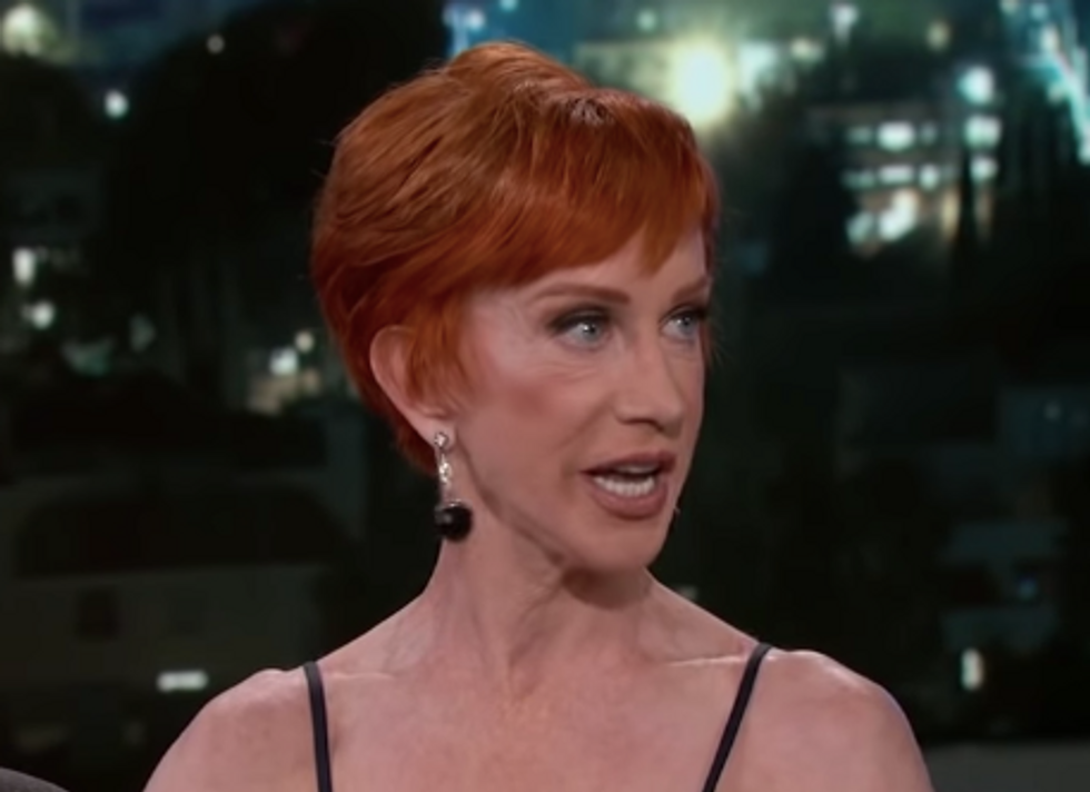 'You Piece of Sh*t': Kathy Griffin Blasts Trump for Tweeting His 'Deepest Sympathies' After McCain's Death