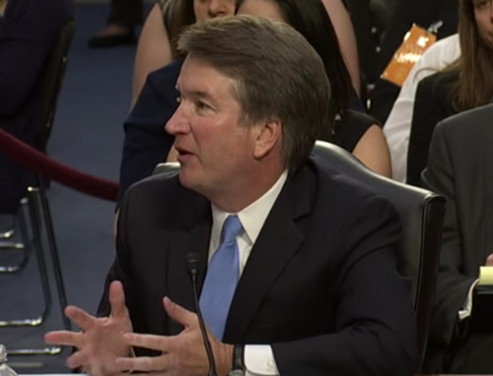 Watch Kavanaugh Refuse to Say if He Personally Believes Gay People Shouldn't Be Fired for Their Identity