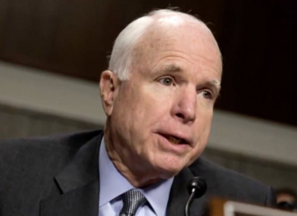 McCain's Used His Final Statement to Skewer What Trump Gets Entirely Wrong About Politics