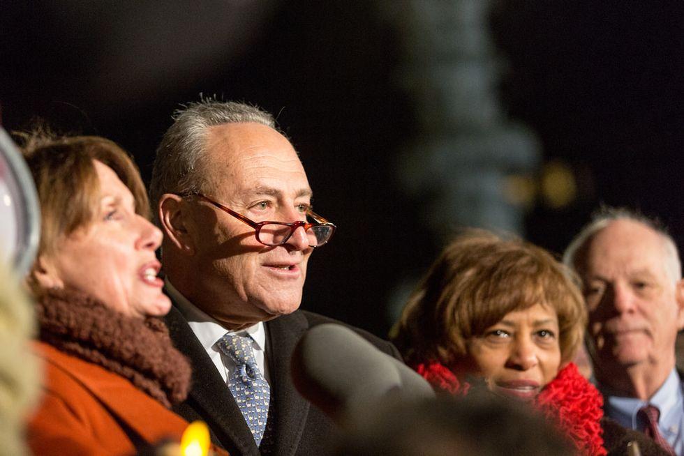 'Political cowardice': Democrats unleash fury at Chuck Schumer for offering $1.6 billion toward Trump's anti-immigrant agenda