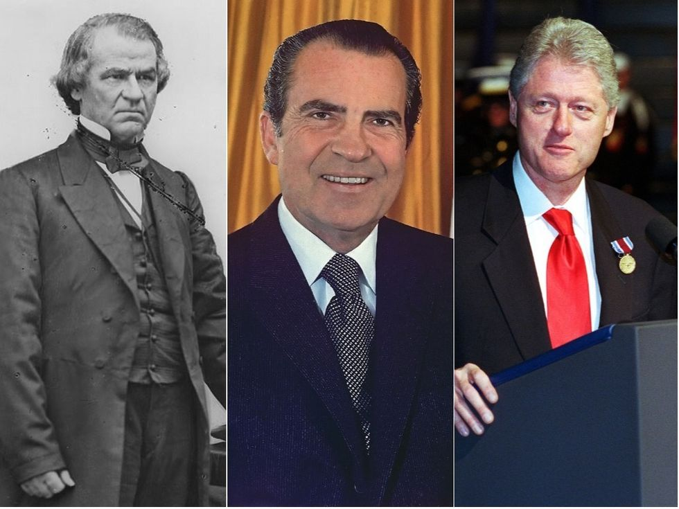 Here's What the History of Presidential Impeachments Tells Us About Trump's Chances of Clinging to Power