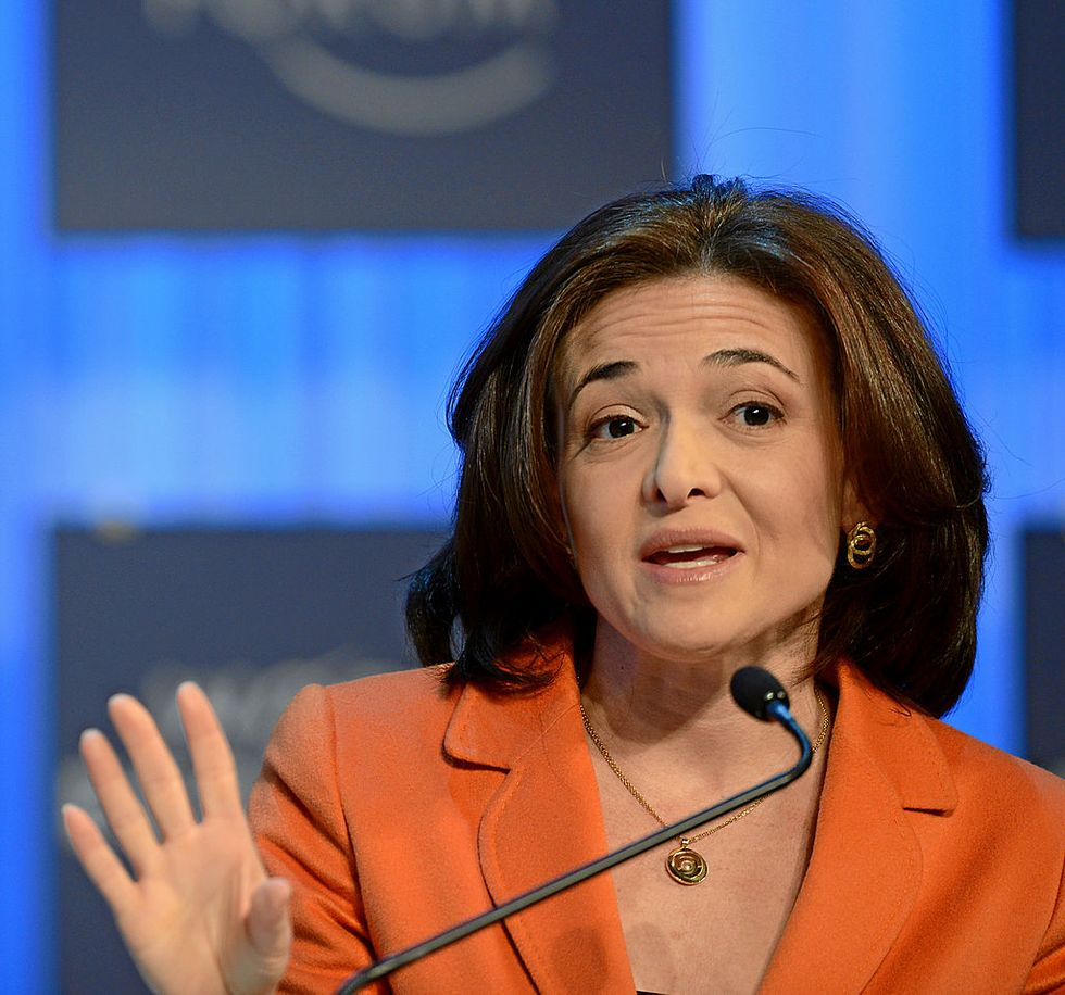 Facebook admits that its Chief Operating Officer Sheryl Sandberg asked for research on George Soros