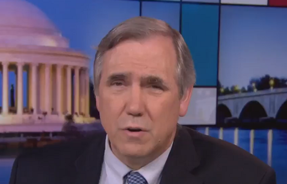 'Dark and Evil': Sen. Merkley Warns Trump Has Plans for 'Family Internment Camps' that Will Traumatize Immigrant Children