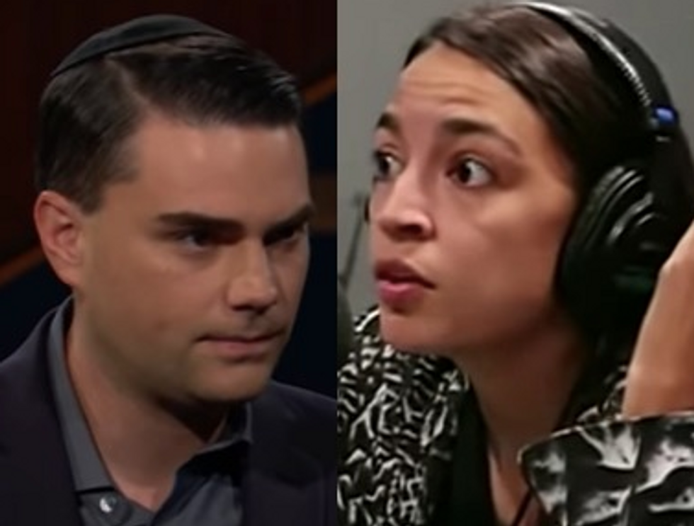 Internet Rips Ben Shapiro for $10K Offer to Debate Alexandria Ocasio-Cortez: He'll 'Pay a Woman Just to Talk to Him'