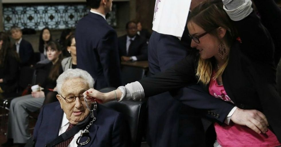 Kissinger Is at It Again