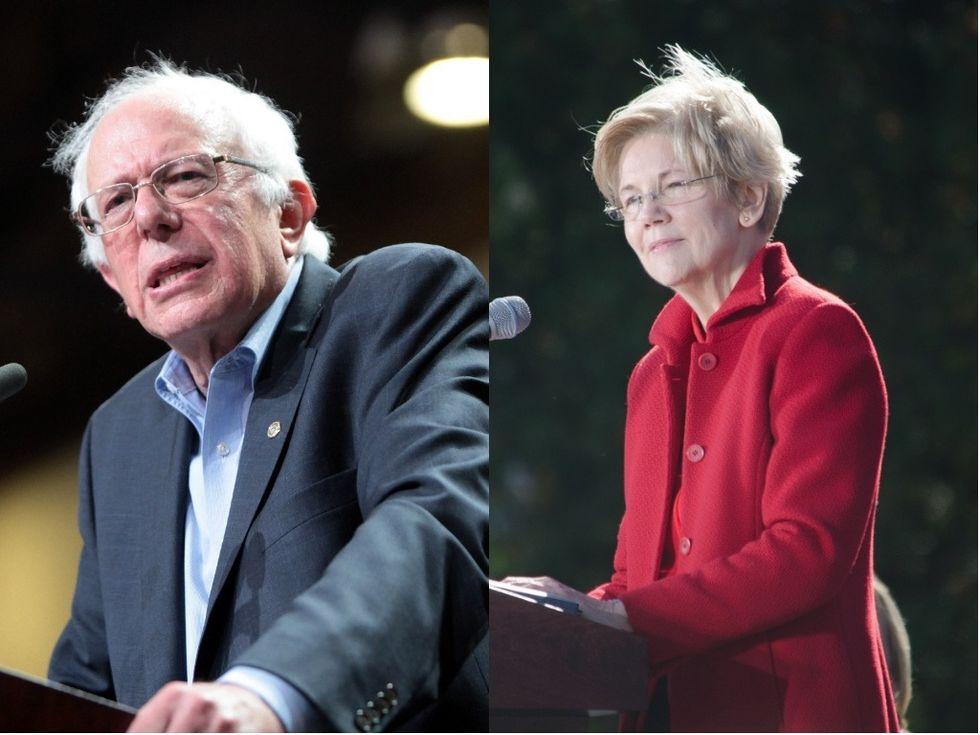 Here's the Biggest Political Difference Between Bernie Sanders and Elizabeth Warren