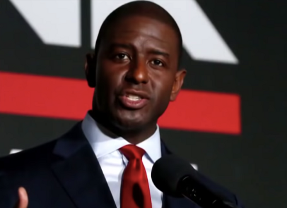 Andrew Gillum Raises $1 Million in First 24 Hours As Florida Democratic Nominee for Governor