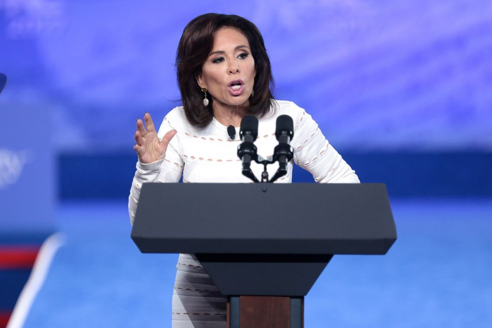 Fox News' Judge Jeanine Goes on Unhinged Rant About Kavanaugh  -  And Spews Lies That Were Already Debunked by Her Own Network