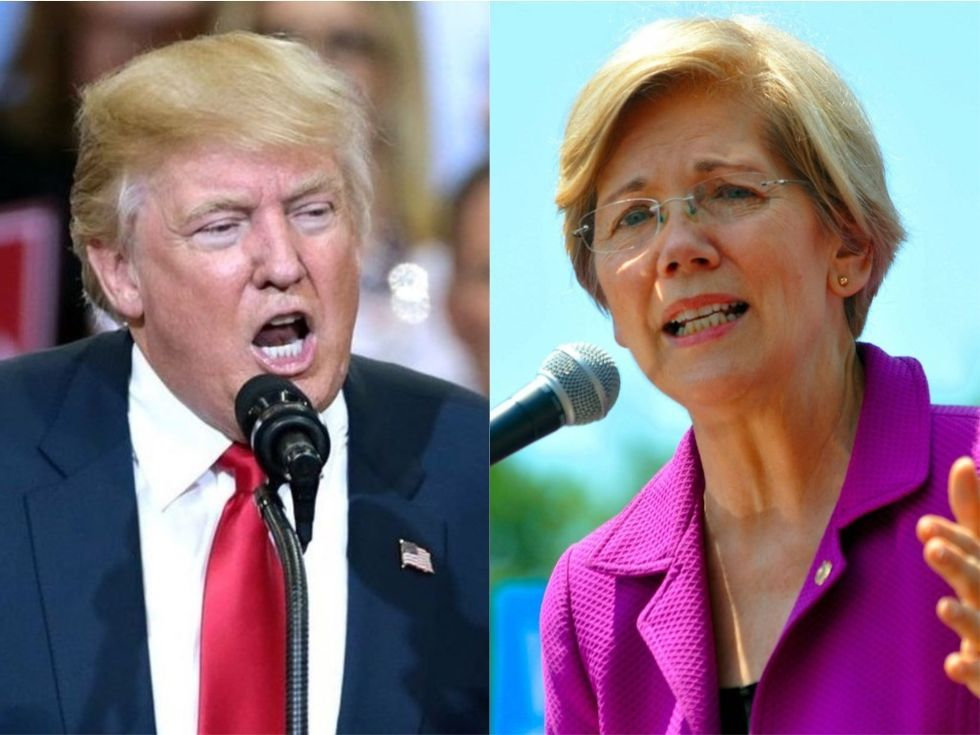 Trump's Racist Worldview and Terrifying Obsession with Eugenics Long Predates His Disgusting Attacks on Elizabeth Warren's Ancestry