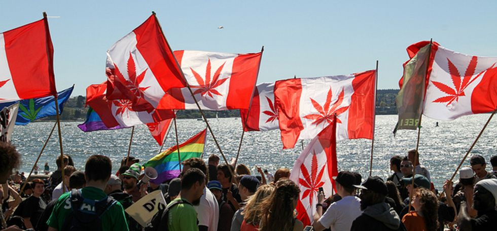 Oh, Canada! Marijuana Is Now Legal in Great White North