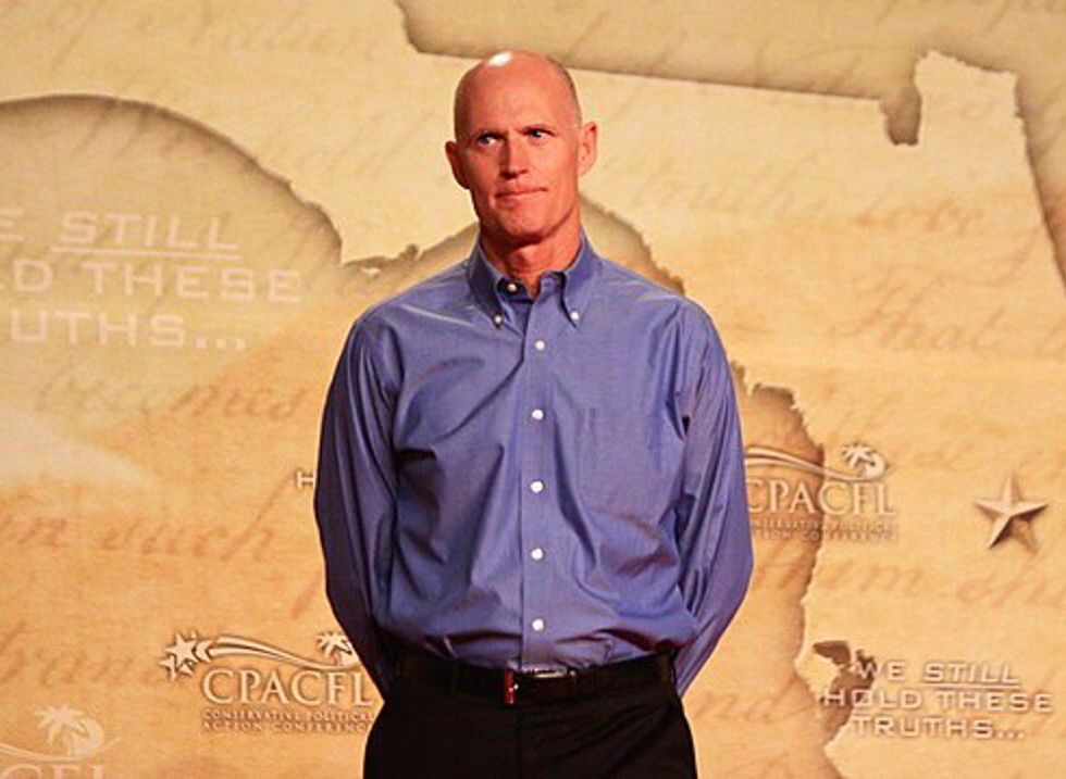 Yet Another Company In Rick Scott's 'Blind Trust' Made Millions Off State Contracts: Report