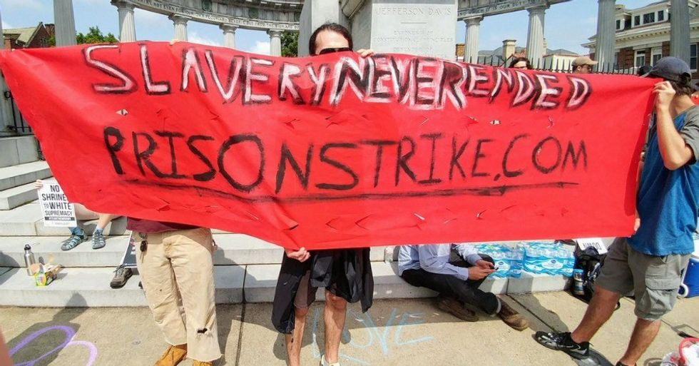 With US Prison Strike on Fourth Day, Reports of Hunger Strikes and Work Stoppages Nationwide