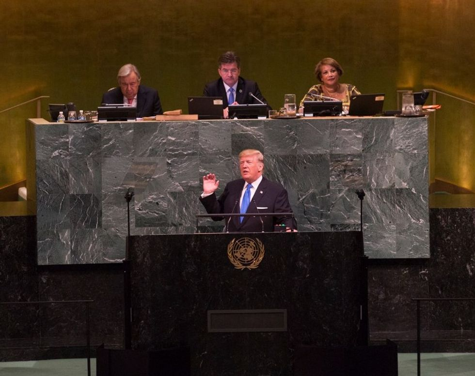 United Nations Diplomats Confirm They Were Laughing at Trump During His Ridiculous Speech: Report