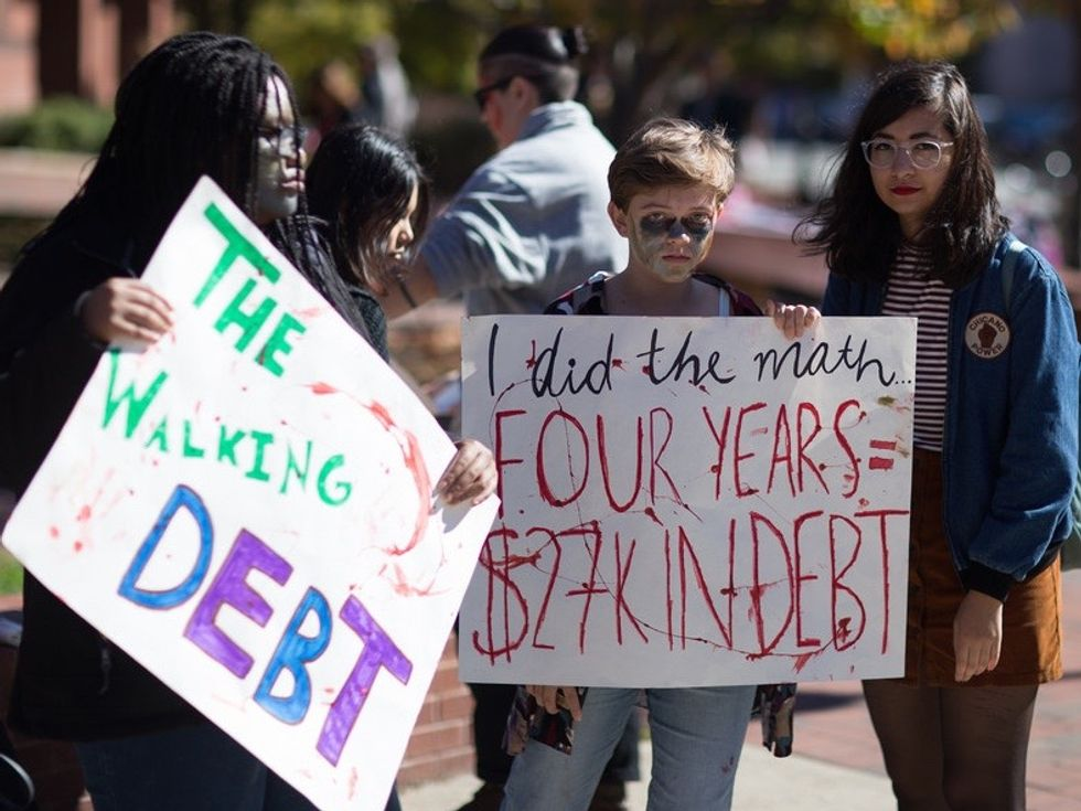 We Can Change Politics  - And Ourselves -  by Canceling Student Debt