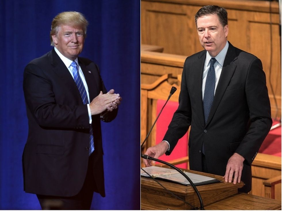 Trump Nonsensically Claims He Should Have 'Fired' James Comey Long Before He Was Even Elected