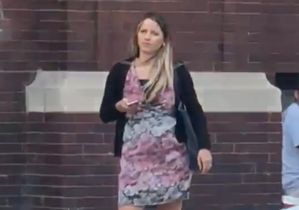 Watch: White Woman Calls the Police on a Black Man for Entering His Own Car