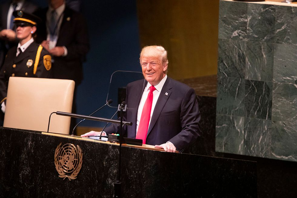 The World Laughed at Donald Trump Because It Knows How Weak He Truly Is