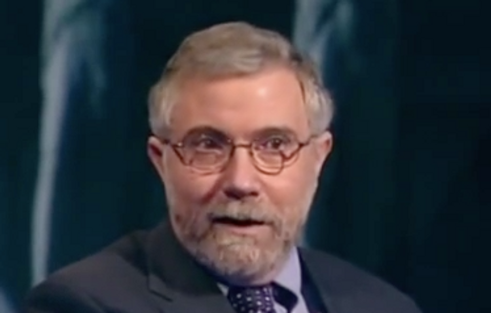 'You're So Easily Played': Paul Krugman Rips Reporters Who Fell for Trump's Caravan Hype