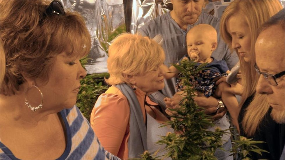 Ricki Lake on 'Weed the People': 'It's Not About Getting High, It's About Children Dying of Cancer'