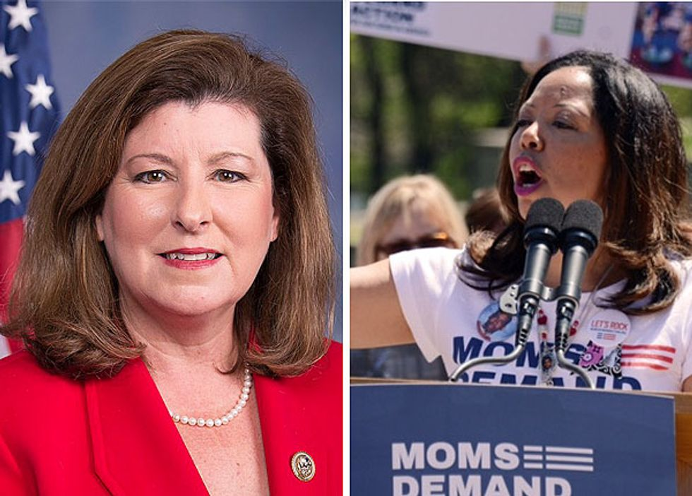 It's Official: GOP Congresswoman Who Beat Jon Ossoff Has Lost to Gun Violence Activist