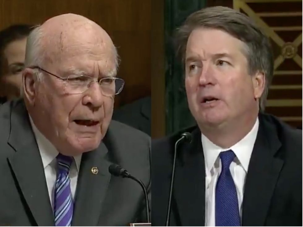 Democratic Senator Uses Kavanaugh's Own Words to Show Why We Need an FBI Investigation into the Accusations Against the Nominee