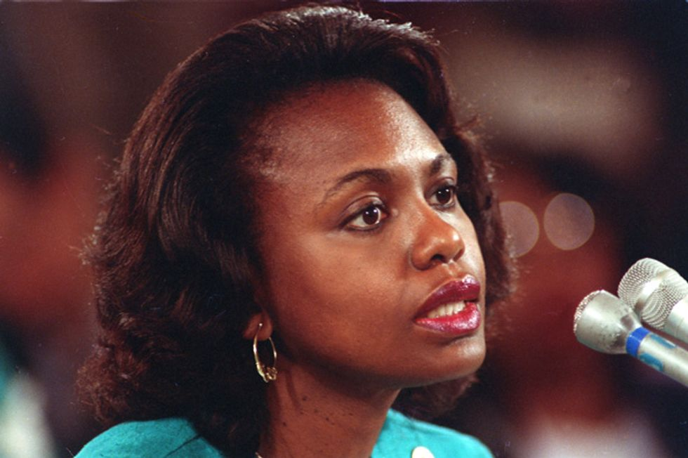 Conservatives Aren't Afraid of Anita Hill Redux: They Know Power Matters More than Truth