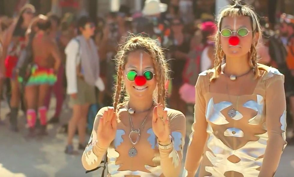 Burning Man: Paradise for Hipster Guests -- And a Nightmare for Some Workers