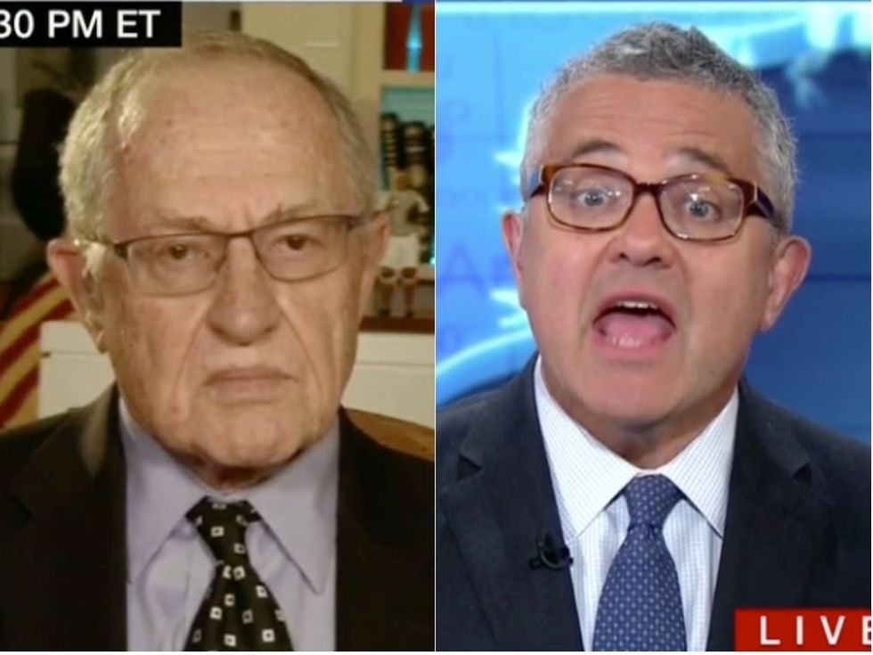 'I'm Talking Now!': CNN Analyst Jeffrey Toobin Dismantles Alan Dershowitz's Shameless Defense of Trump's Hush Money Payments